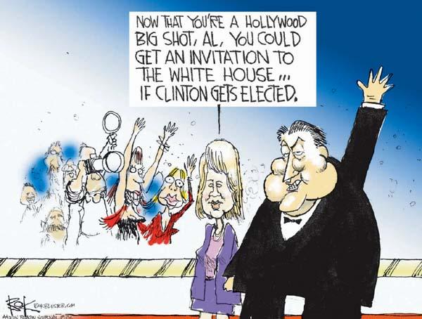 Cartoonist Chip Bok  Chip Bok's Editorial Cartoons 2006-05-31 former president