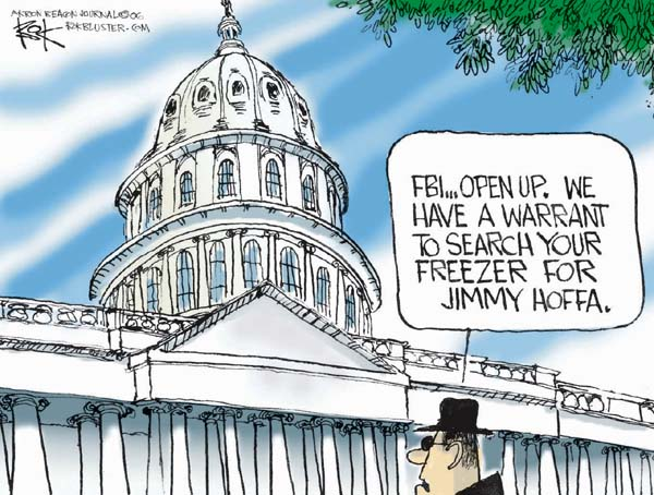 Chip Bok  Chip Bok's Editorial Cartoons 2006-06-01 congressional scandal