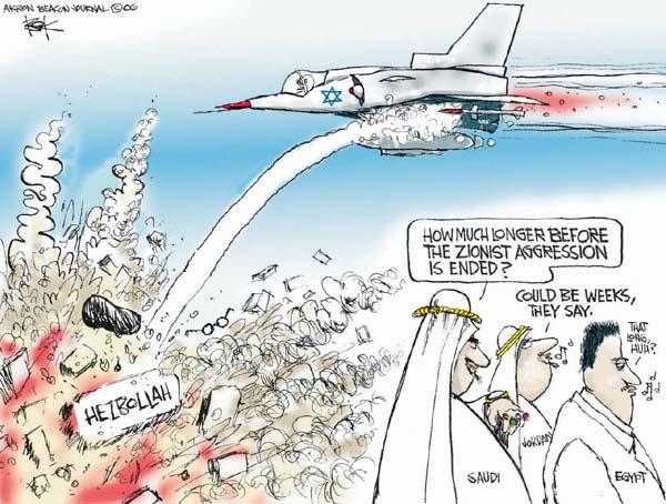 Cartoonist Chip Bok  Chip Bok's Editorial Cartoons 2006-07-20 Saudi
