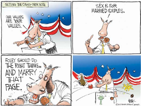 Cartoonist Chip Bok  Chip Bok's Editorial Cartoons 2006-10-12 page