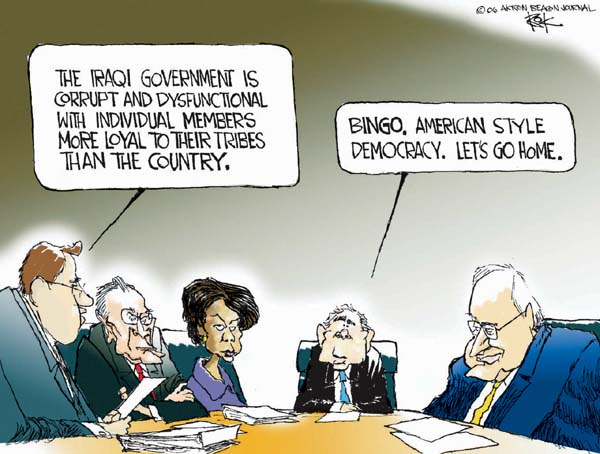 Cartoonist Chip Bok  Chip Bok's Editorial Cartoons 2006-10-16 corruption