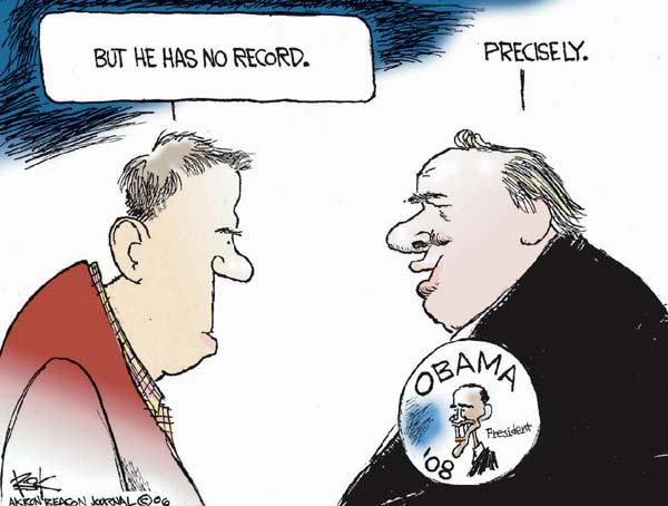 Cartoonist Chip Bok  Chip Bok's Editorial Cartoons 2006-10-24 candidate