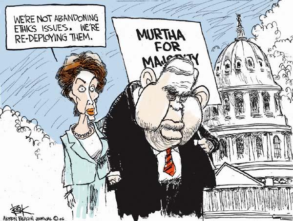 Cartoonist Chip Bok  Chip Bok's Editorial Cartoons 2006-11-16 corruption