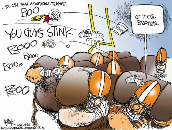 Cartoonist Chip Bok  Chip Bok's Editorial Cartoons 2006-11-28 professional sport