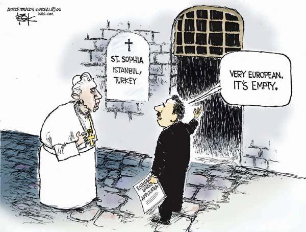 Cartoonist Chip Bok  Chip Bok's Editorial Cartoons 2006-12-01 European Union