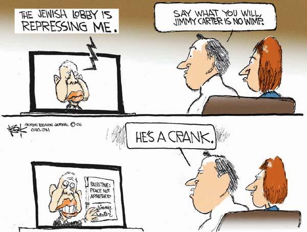 Cartoonist Chip Bok  Chip Bok's Editorial Cartoons 2006-12-20 Israel Palestine