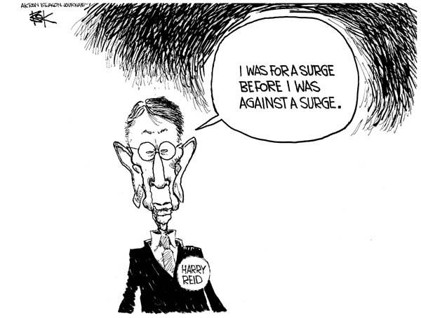 Cartoonist Chip Bok  Chip Bok's Editorial Cartoons 2007-01-08 policy