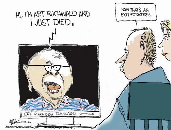 Cartoonist Chip Bok  Chip Bok's Editorial Cartoons 2007-01-22 art