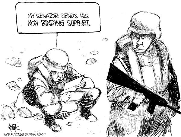 Cartoonist Chip Bok  Chip Bok's Editorial Cartoons 2007-01-26 legislation