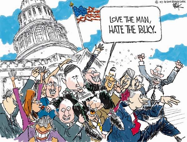Cartoonist Chip Bok  Chip Bok's Editorial Cartoons 2007-01-29 policy