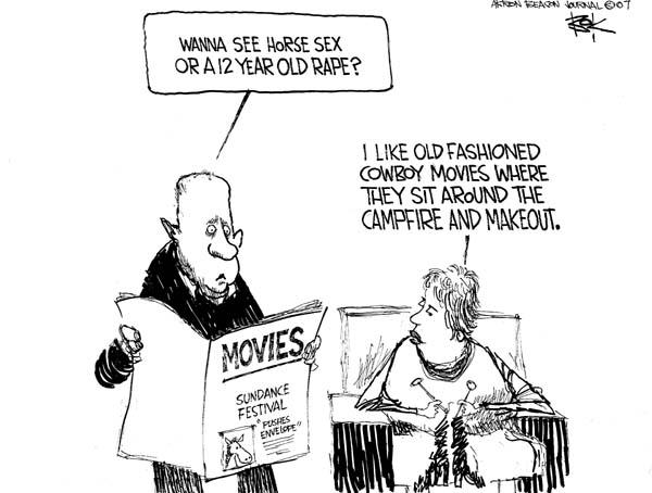 Chip Bok  Chip Bok's Editorial Cartoons 2007-01-30 envelope