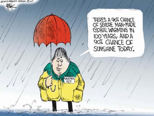 Cartoonist Chip Bok  Chip Bok's Editorial Cartoons 2007-02-05 weather