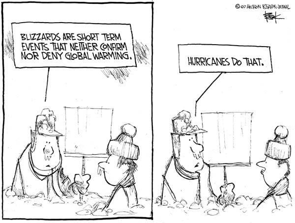 Cartoonist Chip Bok  Chip Bok's Editorial Cartoons 2007-02-19 short