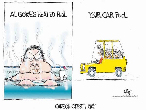 Chip Bok  Chip Bok's Editorial Cartoons 2007-03-05 carbon