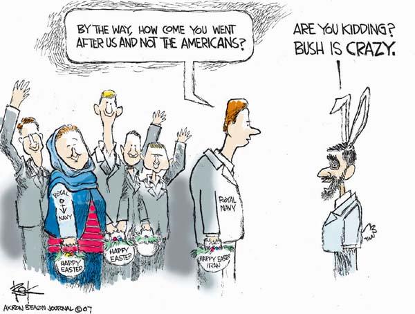 Cartoonist Chip Bok  Chip Bok's Editorial Cartoons 2007-04-05 basket