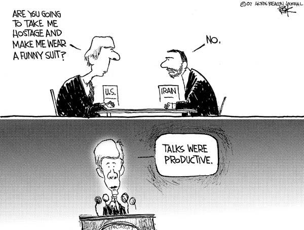 Cartoonist Chip Bok  Chip Bok's Editorial Cartoons 2007-05-30 international relations