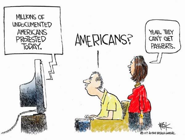 Cartoonist Chip Bok  Chip Bok's Editorial Cartoons 2007-06-26 citizenship