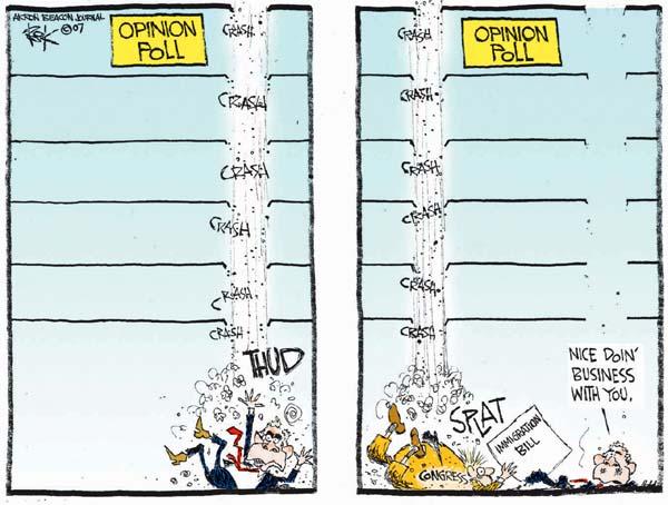 Cartoonist Chip Bok  Chip Bok's Editorial Cartoons 2007-07-02 attitude