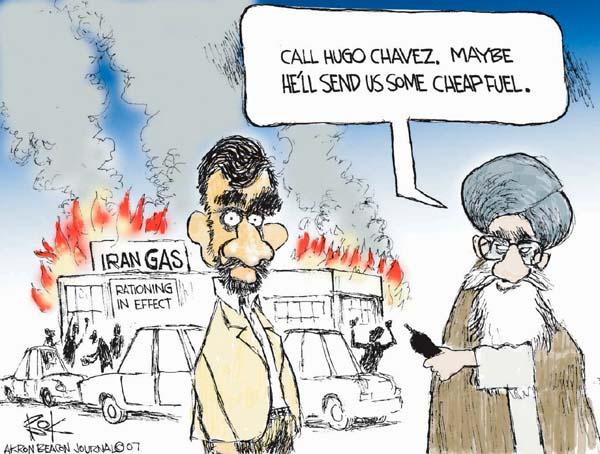 Chip Bok  Chip Bok's Editorial Cartoons 2007-07-02 Ali Khamenei
