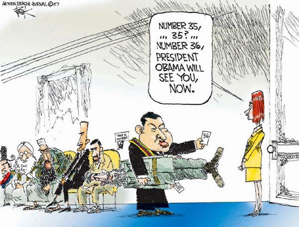 Cartoonist Chip Bok  Chip Bok's Editorial Cartoons 2007-07-27 international relations