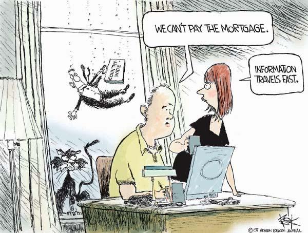 Cartoonist Chip Bok  Chip Bok's Editorial Cartoons 2007-08-20 information
