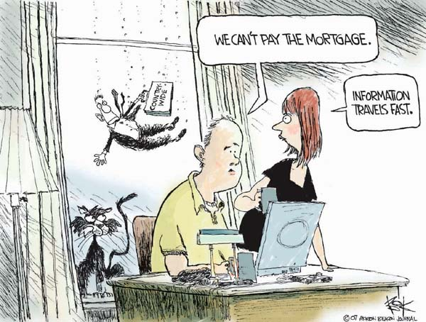 Chip Bok  Chip Bok's Editorial Cartoons 2007-08-20 personal finance