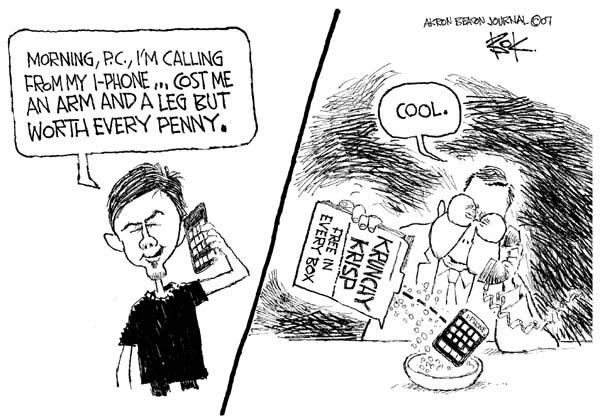 Cartoonist Chip Bok  Chip Bok's Editorial Cartoons 2007-09-07 digital