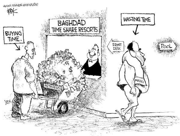 Chip Bok  Chip Bok's Editorial Cartoons 2007-09-13 general