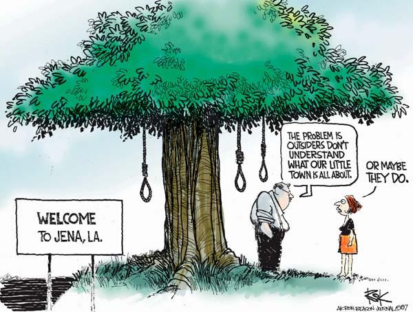 Chip Bok  Chip Bok's Editorial Cartoons 2007-09-21 racism