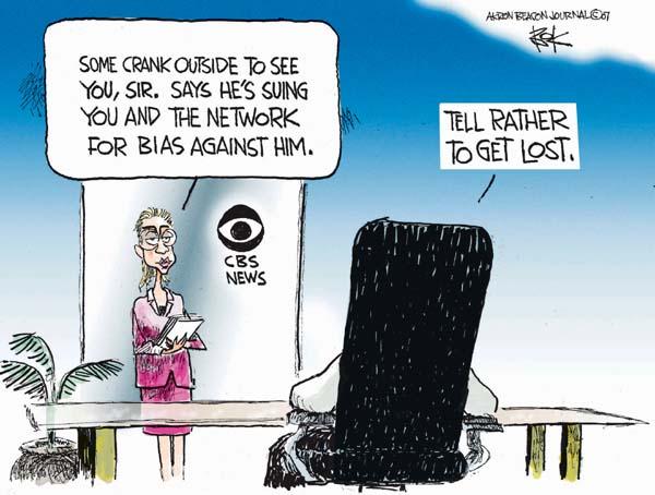 Cartoonist Chip Bok  Chip Bok's Editorial Cartoons 2007-09-24 bias