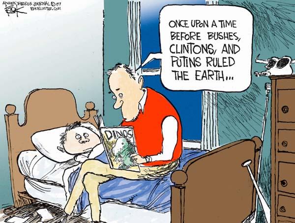 Cartoonist Chip Bok  Chip Bok's Editorial Cartoons 2007-10-04 Russian President