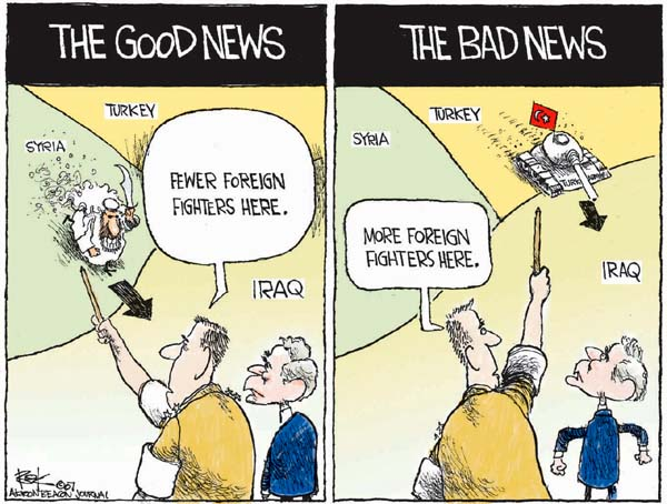 Cartoonist Chip Bok  Chip Bok's Editorial Cartoons 2007-10-22 bad news