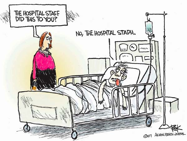 Cartoonist Chip Bok  Chip Bok's Editorial Cartoons 2007-10-22 infectious