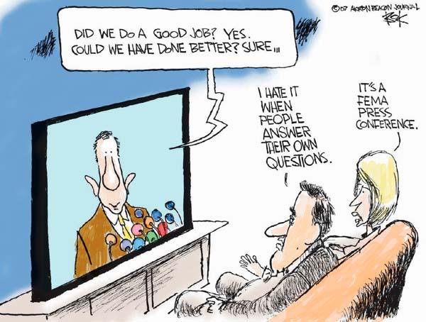 Cartoonist Chip Bok  Chip Bok's Editorial Cartoons 2007-11-01 integrity