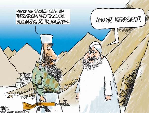 Cartoonist Chip Bok  Chip Bok's Editorial Cartoons 2007-11-06 ballot