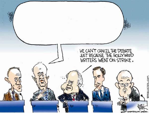 Chip Bok  Chip Bok's Editorial Cartoons 2007-11-09 Rudy Giuliani