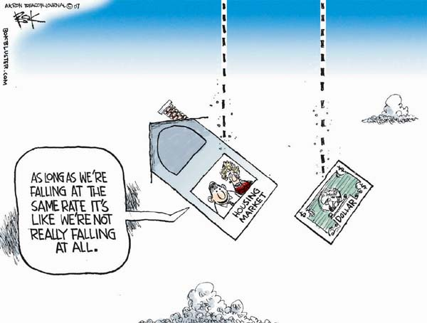 Chip Bok  Chip Bok's Editorial Cartoons 2007-11-12 currency