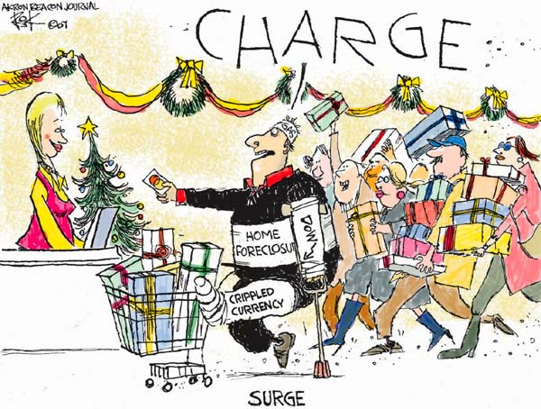 Chip Bok  Chip Bok's Editorial Cartoons 2007-11-27 charge