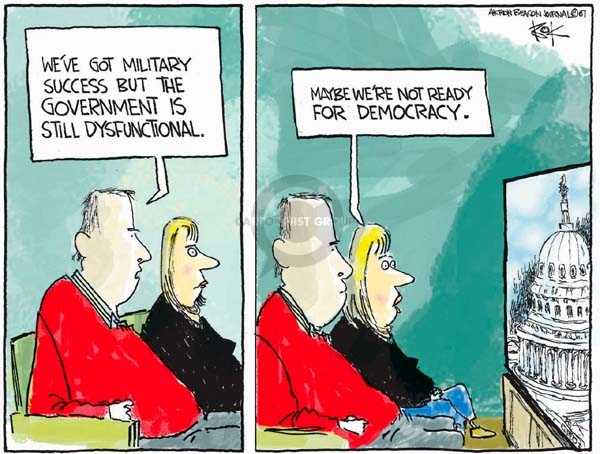 Cartoonist Chip Bok  Chip Bok's Editorial Cartoons 2007-12-21 success