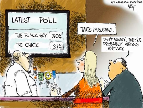 Cartoonist Chip Bok  Chip Bok's Editorial Cartoons 2008-01-17 democratic candidate