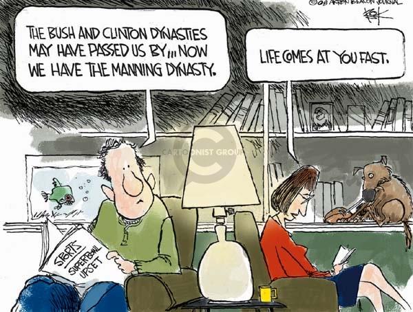 Chip Bok  Chip Bok's Editorial Cartoons 2008-02-06 speed