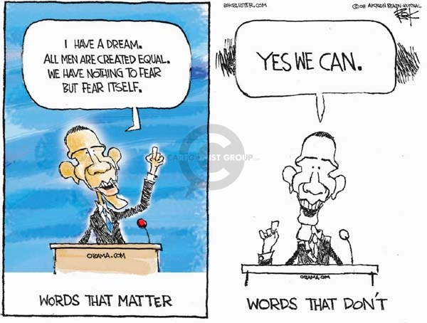 Cartoonist Chip Bok  Chip Bok's Editorial Cartoons 2008-02-21 campaign