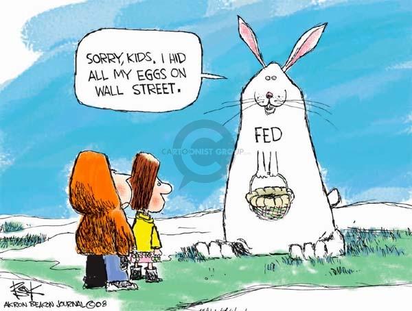 Cartoonist Chip Bok  Chip Bok's Editorial Cartoons 2008-03-24 bear