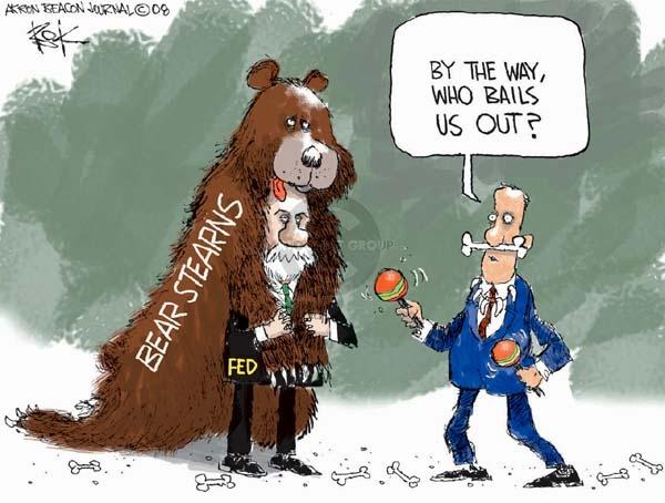 Cartoonist Chip Bok  Chip Bok's Editorial Cartoons 2008-04-04 bear