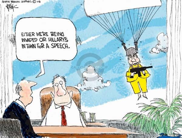 Cartoonist Chip Bok  Chip Bok's Editorial Cartoons 2008-04-08 honesty