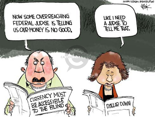 Chip Bok  Chip Bok's Editorial Cartoons 2008-05-22 currency