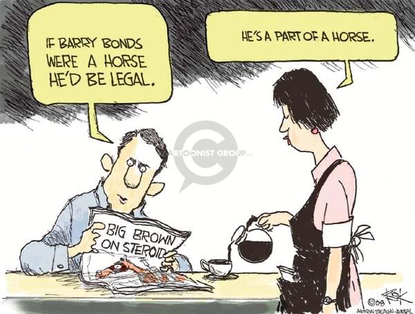 Cartoonist Chip Bok  Chip Bok's Editorial Cartoons 2008-06-03 substance