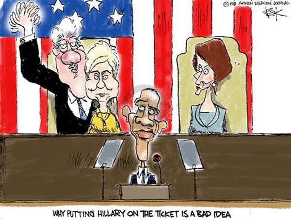 Cartoonist Chip Bok  Chip Bok's Editorial Cartoons 2008-06-05 former president
