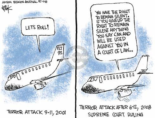 Cartoonist Chip Bok  Chip Bok's Editorial Cartoons 2008-06-19 law