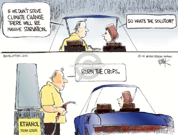 Cartoonist Chip Bok  Chip Bok's Editorial Cartoons 2008-07-14 global warming